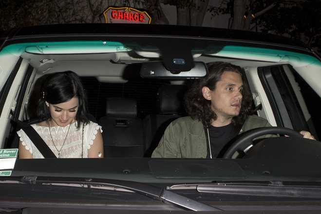 Katy Perry John Mayer Car