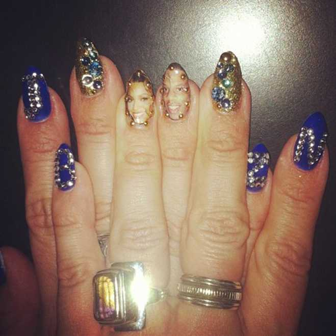Mariah Carey Joins the Pop Star Nail Club, Working on a Polish Line ...