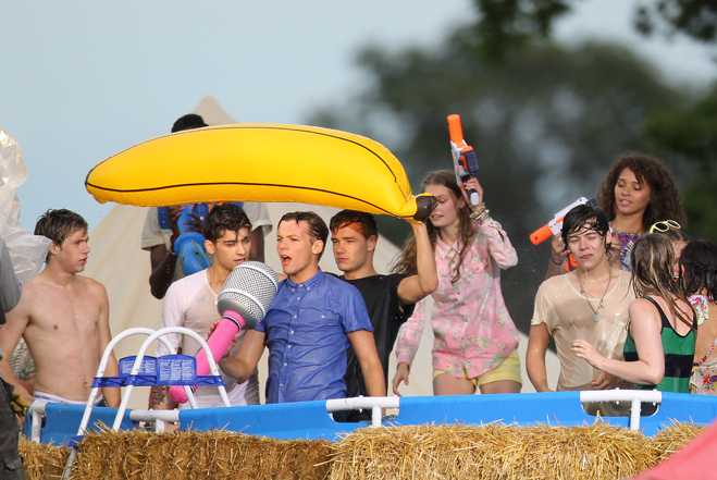 One Direction Live While You're Young Shoot
