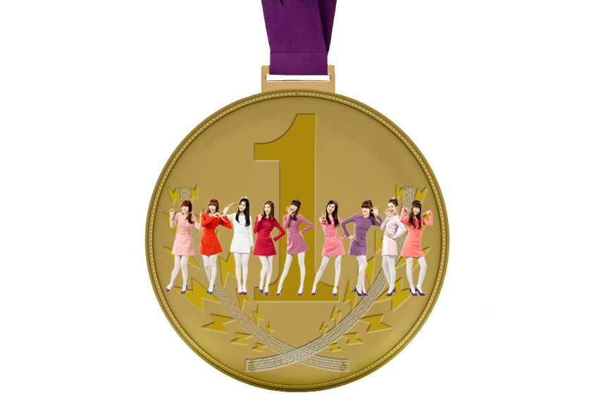 Pop Olympics Medals Girls Generation