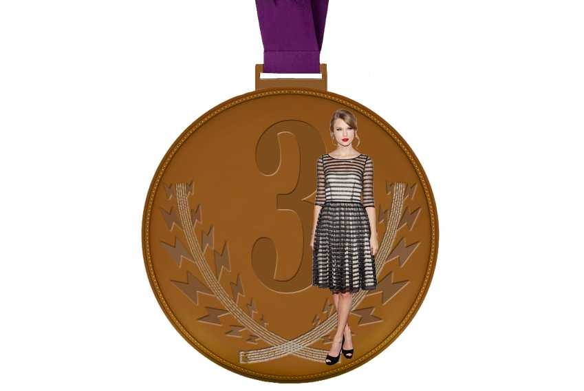 Pop Olympics Medals Taylor Swift