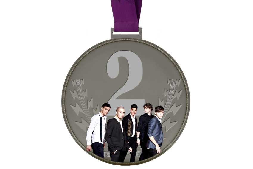 Pop Olympics Medals The Wanted