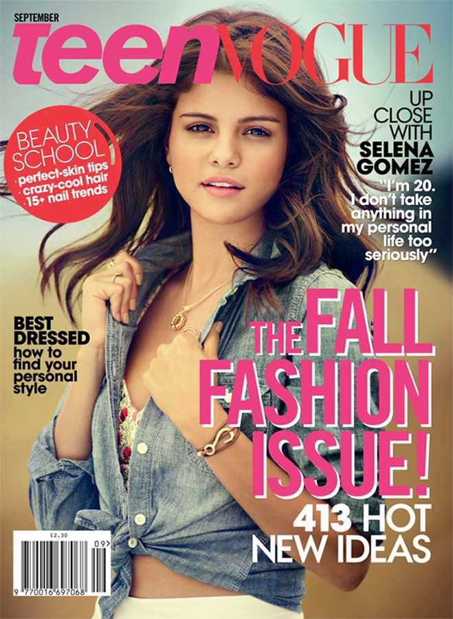 Selena Gomez Teen Vogue