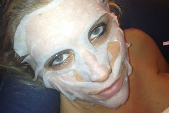 Sticky Kesha Face Mask