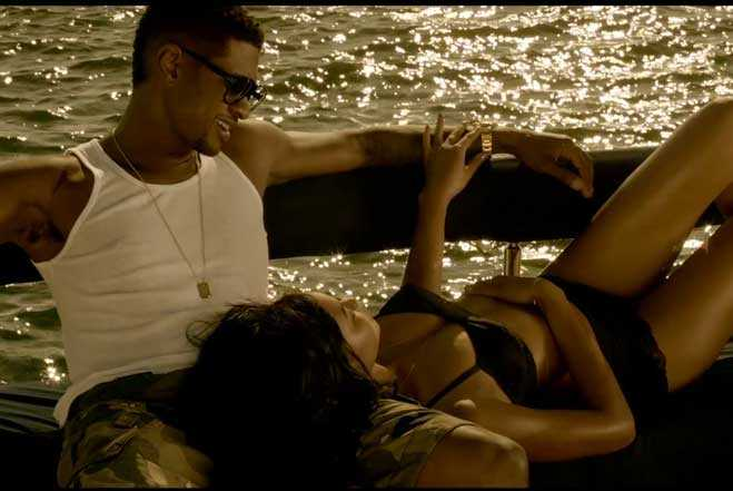 Usher - Dive (with Chanel Iman)