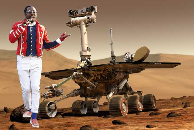 Will.i.Am Official Artist Of Mars