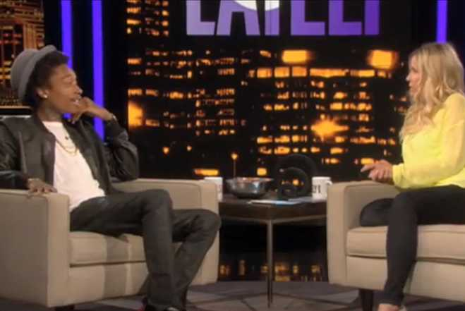 Wiz Khalifa Loves Weed On Chelsea Lately