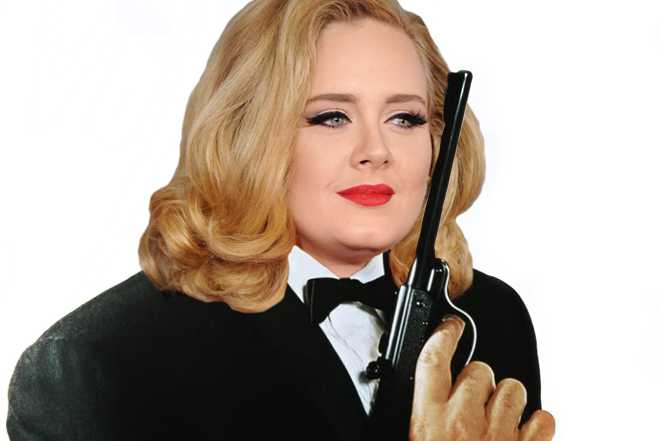 Adele James Bond