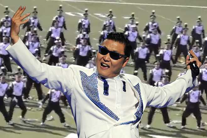 Marching Band Gangnam Style