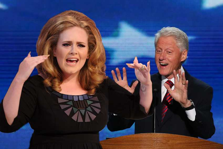 Adele Bill Clinton Gifs