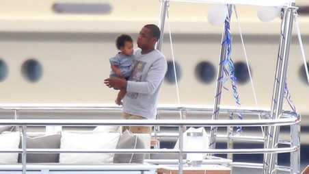 Jay Z Beyonce Blue Ivy France