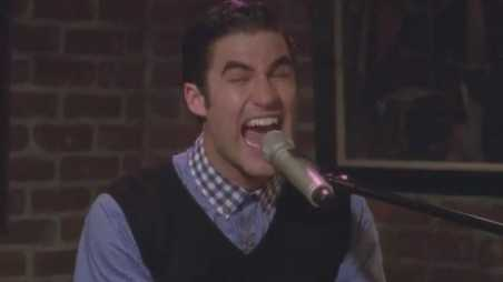 "Darren Criss Performs ""Teenage Dream"" on Glee's ""The Breakup"""