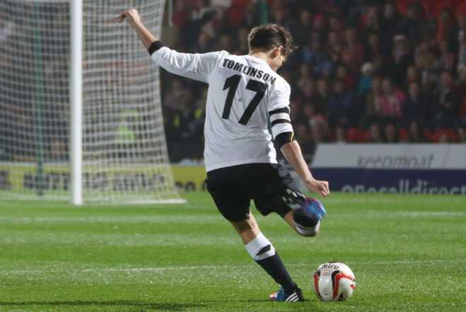 Louis Tomlinson Charity Soccer