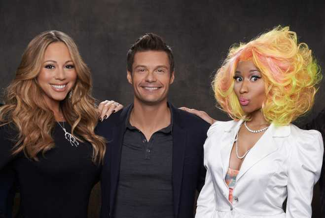 Nicki Minaj Mariah Carey American Idol