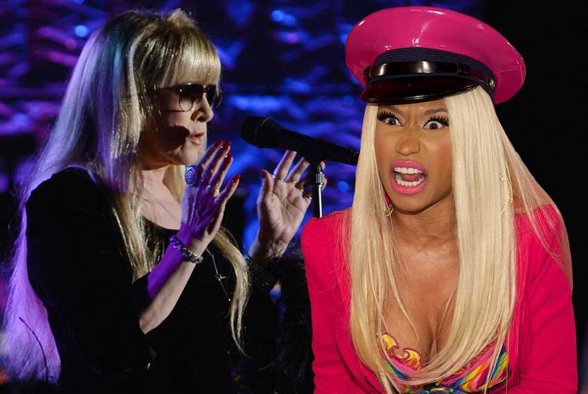 Nicki Minaj Stevie Nicks