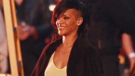 Rihanna Diamonds Video Shoot
