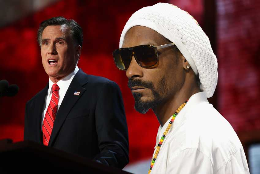 Romney Snoop Lion