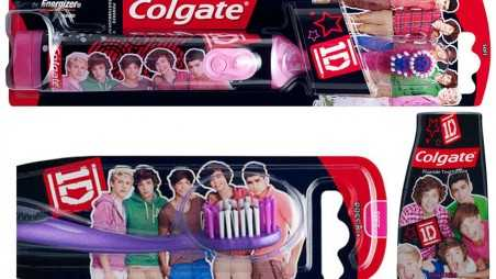 One Direction Colgate