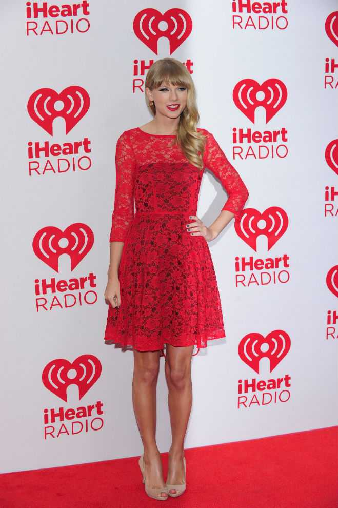 15 Spellbinding Shots Of Taylor Swift In A Quot Red Quot Dress