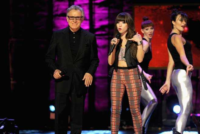Carly Rae Jepsen Harvey Keitel Call Me Maybe