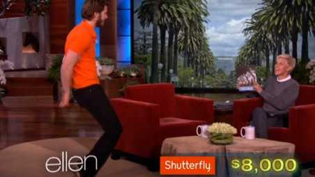Andrew Garfield Dancing