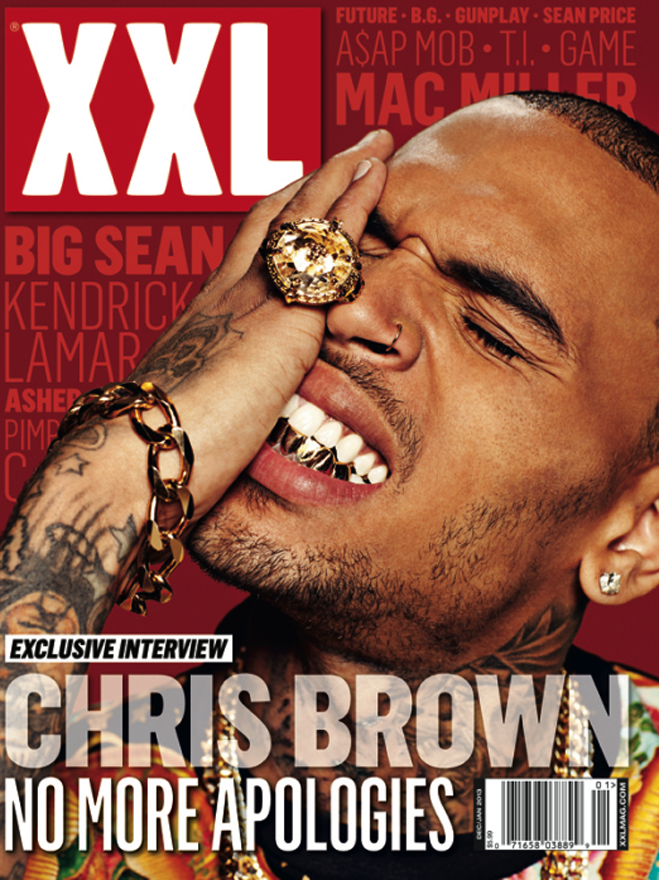 Chris Brown XXL Cover