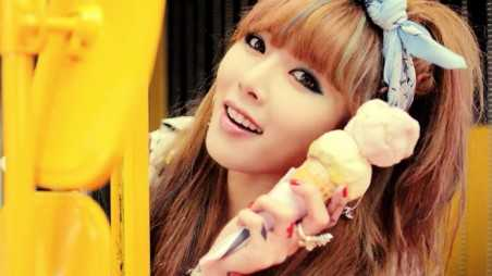 Hyuna Ice Cream