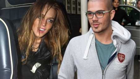 Lindsay Lohan Max George Fight Feature