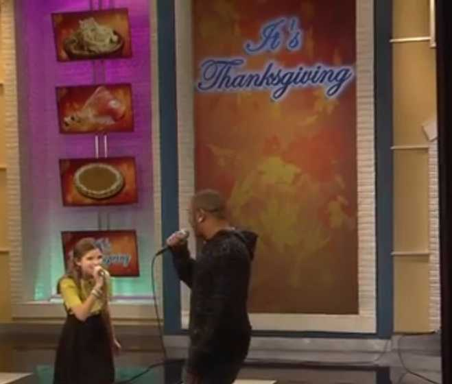 Nicole Westbrook It's Thanksgiving Stage