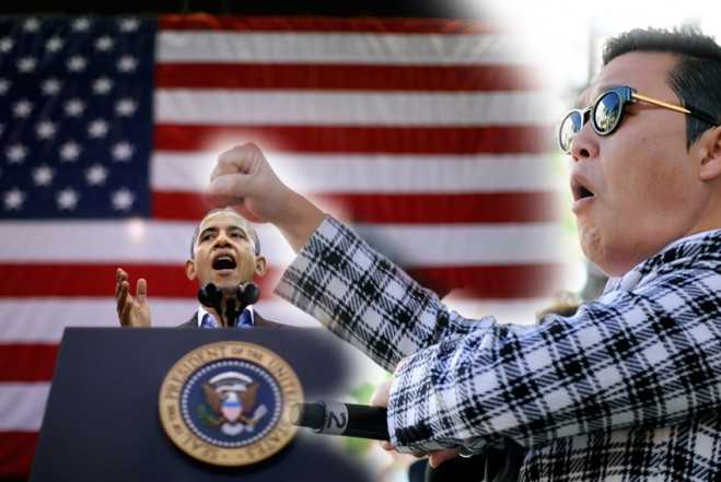 """Barack Obama to Give Michelle a Private """"Gangnam Style"""" Dance?"""