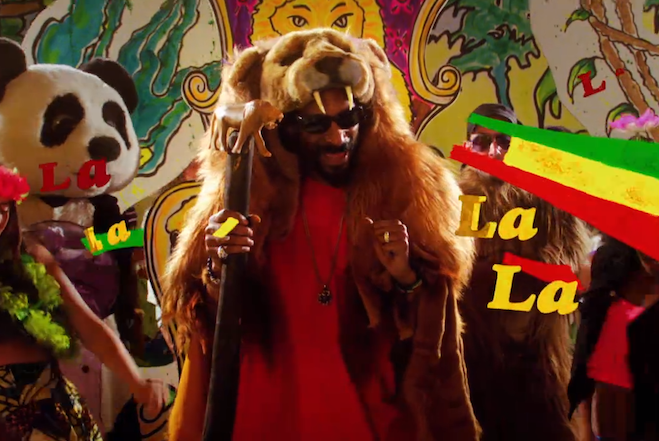 Snoop Lion La La La  Feature