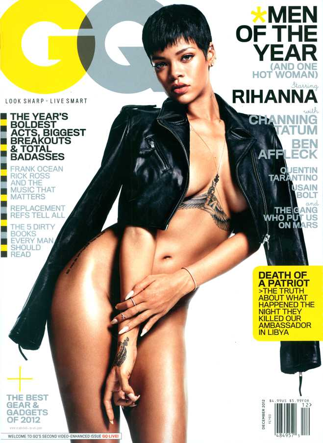 Sticky Rihanna GQ Cover