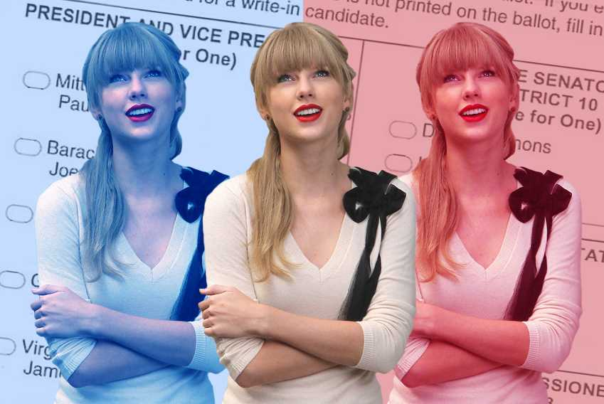 Taylor Swift Voting Break Down