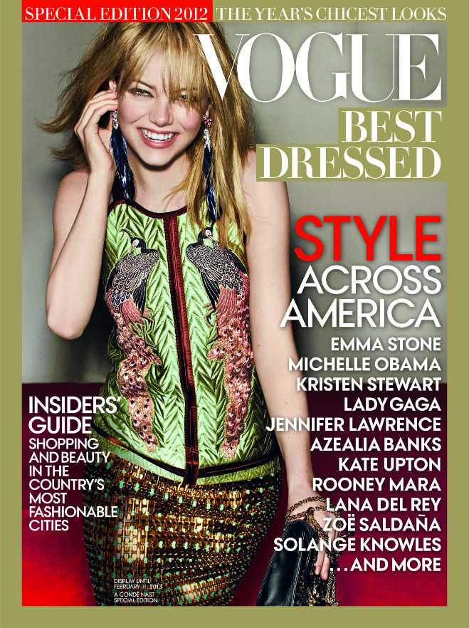 Vogue Best Dressed Cover