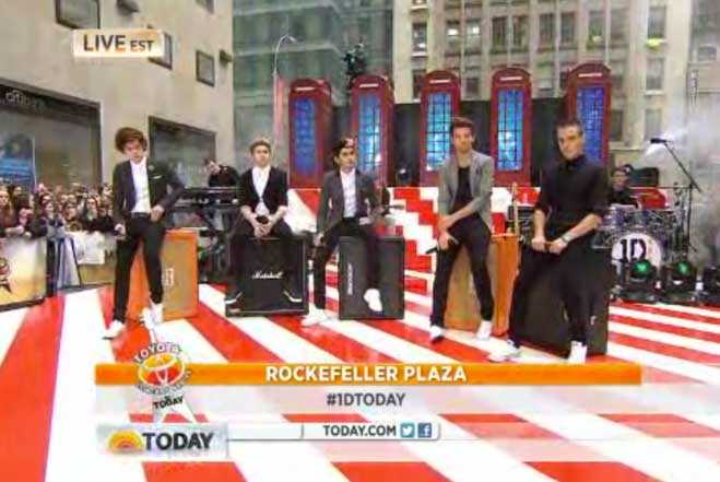 One Direction Today Show