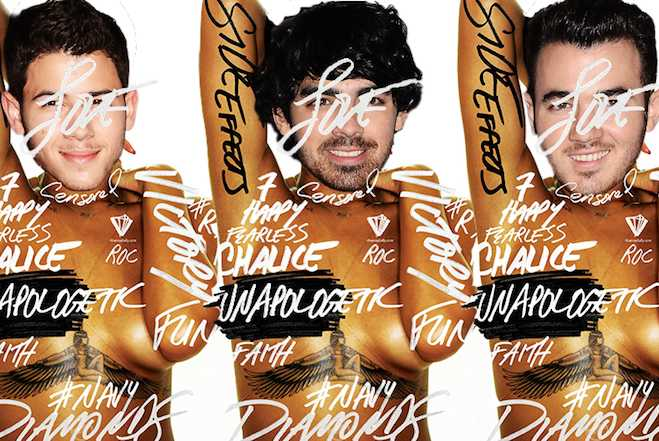 Jonas Brothers Diamonds Cover Feature