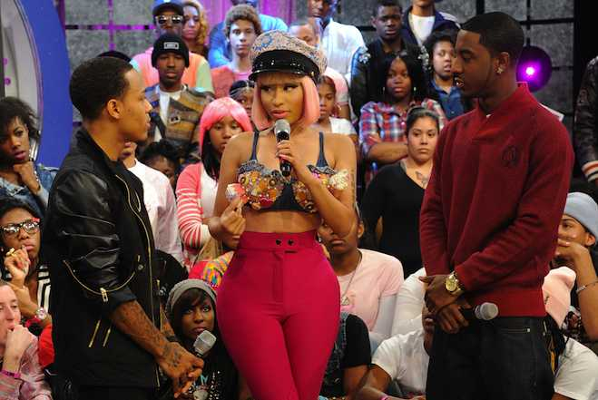 Nicki Minaj BET Nip Slip Feature