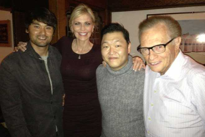 Psy Larry King Chan Ho Park