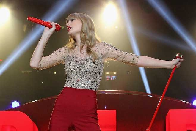 Taylor Swift Most Charitable Star