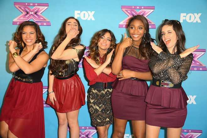 Fifth Harmony X Factor One Direction