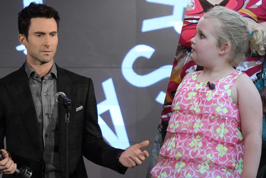 Adam Levine Honey Boo Boo