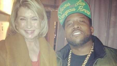 Big Boi and Martha Stewart Meet on The View