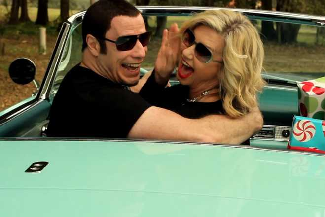John Travolta Olivia Newton John Video