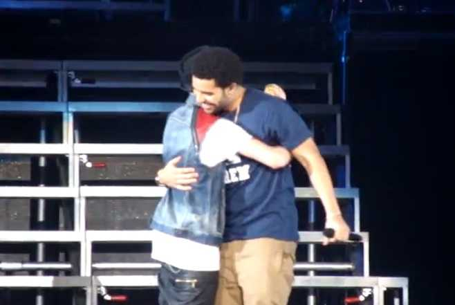 Justin Bieber and Drake Perform in Toronto