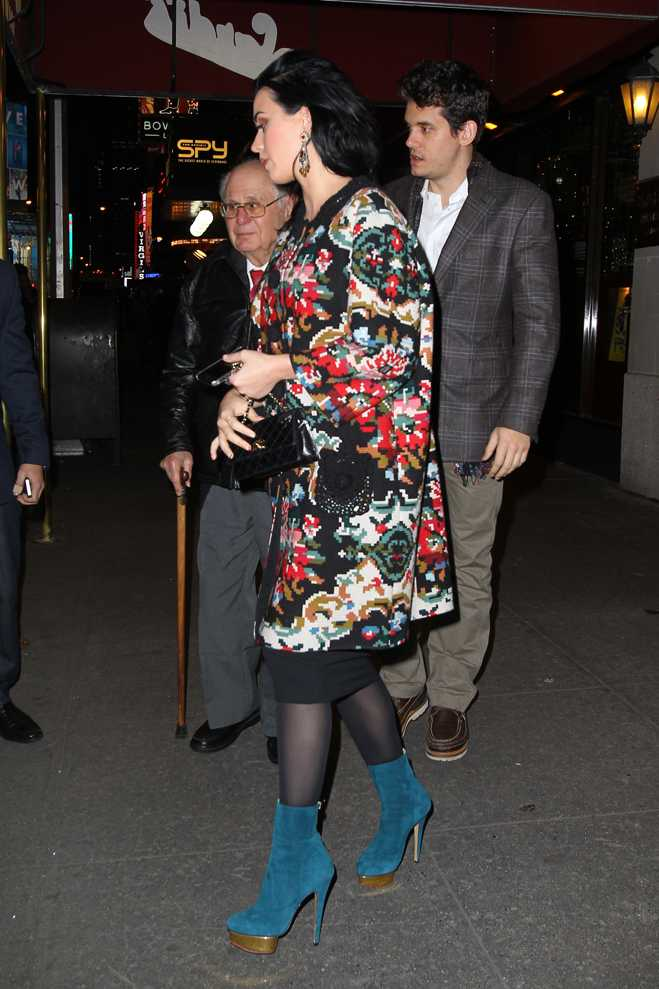 Katy Perry John Mayer Dinner With Dad