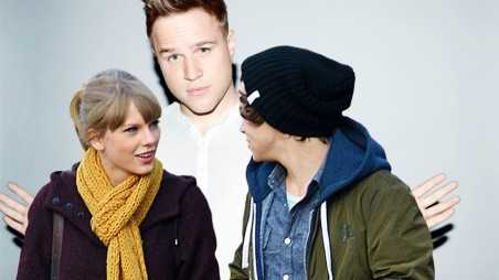 Olly Murs Taylor Swift Harry Styles