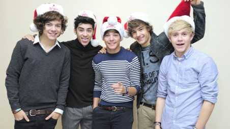 One Direction Santa Hats