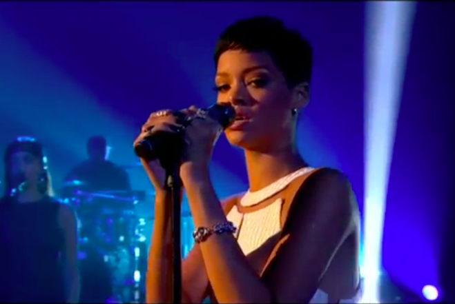 Rihanna Stay X Factor UK