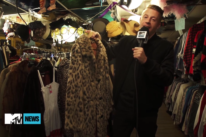Macklemore Thrift Shop MTV