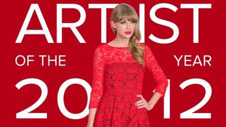 Taylor Swift Artist Of The Year 2012 Feature